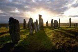 Sunset Standing Stones